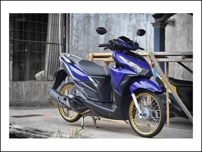 17 Modifikasi Vario 150 Simple Terbaru 2019