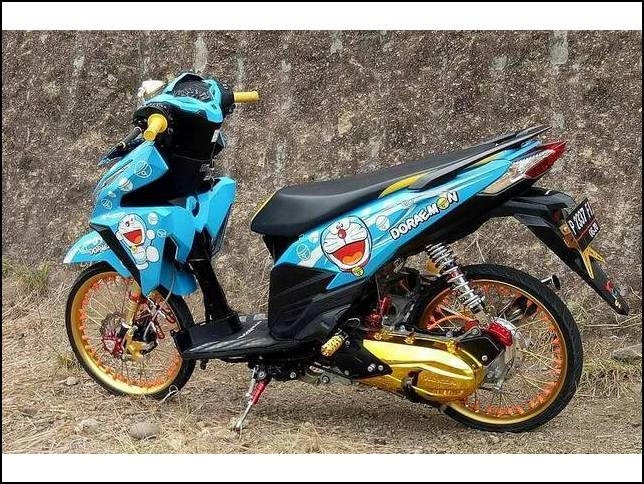 Modifikasi Motor Drag Vario 150