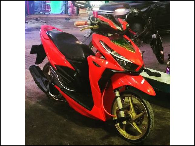 Modifikasi Vario 150 Exclusive