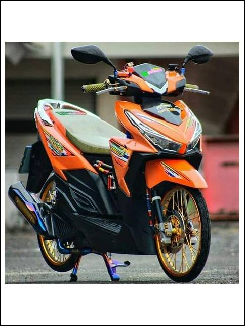 Modifikasi Vario 150 Ring 17