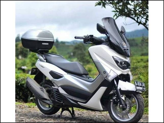 modifikasi nmax putih simple terbaru