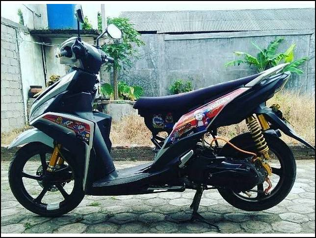 17 Gaya Terbaru Modifikasi Motor Mio Z Simple Modifikasi Motor Bebek