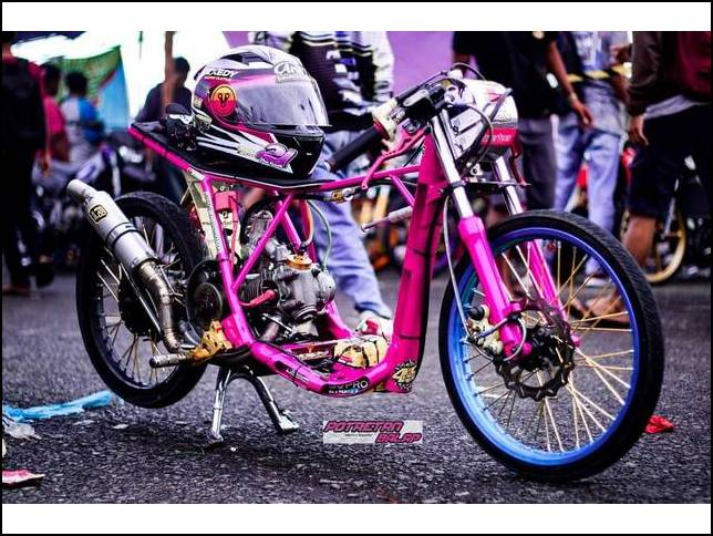 Modifikasi Mio Drag 200 Cc
