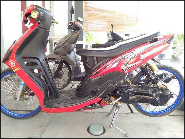 Modif Mio Drag Bike