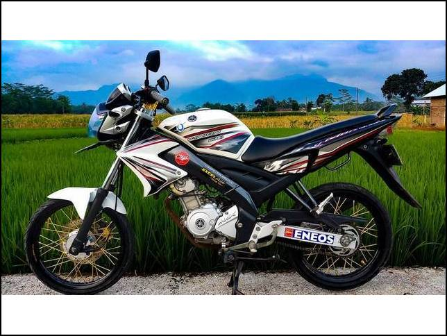 Modifikasi Vixion Old Simple